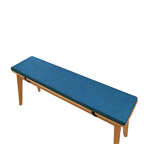 ZSZ Zoomile Cojín de Asiento de Banco Antideslizante 100 / 120cm Cojín de sofá para Mesa de Comedor Cojín Largo Rectangular para Silla para Interior y Exterior 2/3 plazas Muebles para el hogar