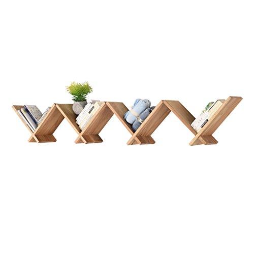 Dongyd Supports muraux en Bois Solides en Bois en Forme de V, Support Mural décoratif Multifonctionnel de Salon (Un Ensemble de 4)
