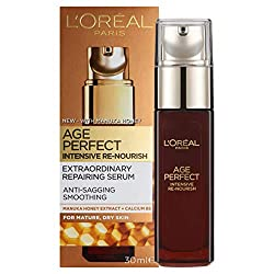A repairing serum With Manuka Honey and Calcium B5 For anti-sagging and smoothing A silky serum with a satin soft touch L'Oréal are removing the cellophane wrapper from the packaging of all L'Oréal Paris skincare products as part of efforts to reduce...