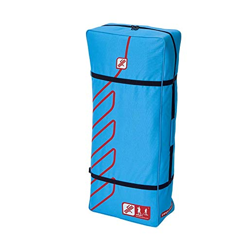 grandtoursports*com GTS Single Bag SUP Board Bag - Mochila de viaje XL (90 L), color azul