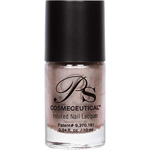 PS Polish All Natural Nail Polish, Fall Collection Non-Toxic Professional Grade Nail Art and Polish Nail Lacquer, Beige Nail Polishes for Manicure, Pedicure, Hands (Champagne)