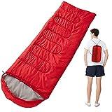Saco de dormir ultraligero para acampar, relleno de plumas, impermeable, con...