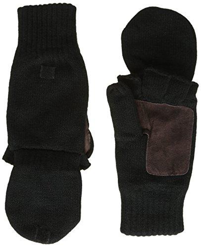 HIGHLANDER Falher Warm Moufles/Mitaines tricotées Noir Noir Large