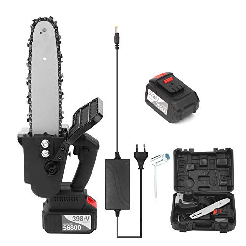 Kedelak Sierra de cadena inalámbrica sin escobillas de 21 V, batería de...