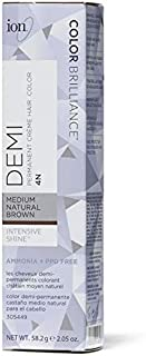 Ion Color Brilliance Intensive Shine Demi Permanent Creme 4N Medium Natural Brown