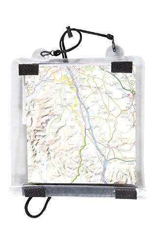 Mountain Warehouse Bolsillo Bolsa Multiuso con Cuerda SOGA Suave Excursiones Senderismo para Mapas One Talla única
