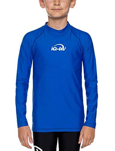 iQ-UV 300 Kinder, Langarm, Uv-Schutz T-Shirt, Blau (Dark Blue), 164/170