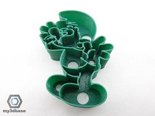 Kekstempel/ Ausstechform für Kekse in versch. Formen ca. 8cm Angry Bird Minion osterhase Schlumpf etc (Schlumpf)
