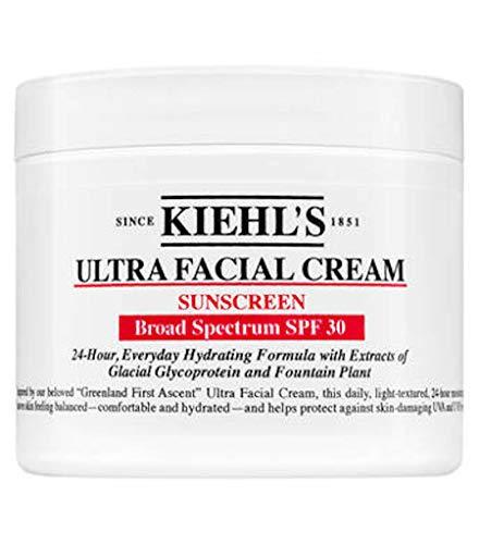 Kiehls Sunscreen Ultra Facial Cream SPF 30-1.7oz