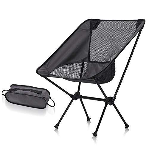 LHY Außen Klappstuhl, Tragbare Camping-Stuhl, Compact Ultra Folding Backpacking Stühle, Für Trekking, Wandern, Picknick, Angeln,2
