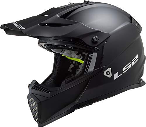 LS2 MX437 Fast Evo Solid Motocross Helm XXXL (65/66)