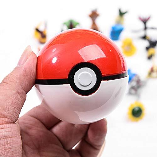 Yisily 9 Stück Pop Poke Ball Spielzeug Ball Junge Tasche Spielzeug Pop Ball Tasche Spielzeug Geschenke für Kinder Zufällige Farbe