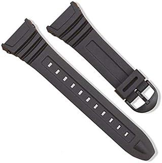 N/V silicona reloj banda de acero inoxidable hebilla hebilla reloj para Casio W-96H deportes hombres mujeres correa pulseras