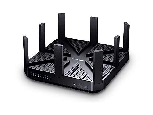TP-Link Archer C5200 Wireless Tri-Band MU-MIMO Gigabit Router, 5134Mbps for Gaming and 4K Streaming (Works with Alexa)