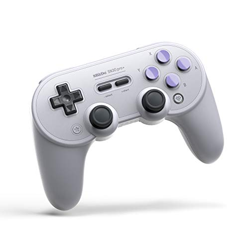 8Bitdo SN30 Pro+ Wireless Bluetooth Gamepad for Nintendo SwitchWindowsmacOSAndroidRaspberry Pi (SN Edition)