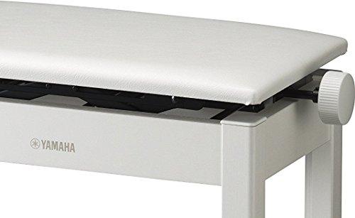 ヤマハYAMAHA電子ピアノ用高低自在椅子ホワイトBC-205WH