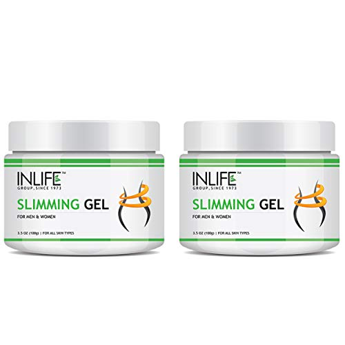 INLIFE Slimming Gel for Tummy Thigh in Weight Loss for Men Women – 100 Grams (Pack of 2)