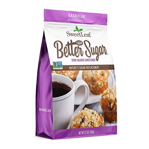 SweetLeaf Better Than Sugar! Stevia Blend for Baking Granular Sweetener, 12.7 Oz