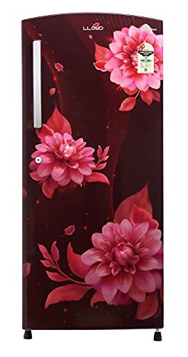 Lloyd 225 L 2 Star Direct Cool Single Door Refrigerator (GLDC242SBWT2PB, Begonia Wine)
