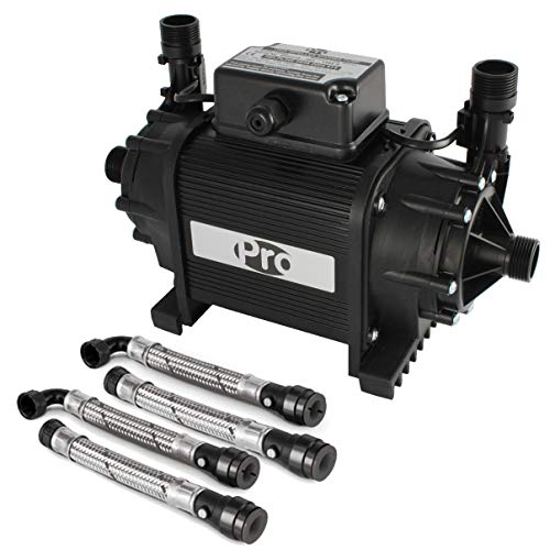 Pro 135495 Shower Pump, Black