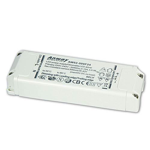 ANWAY LED Treiber AW02-500F24 21W/500mA/26-42V