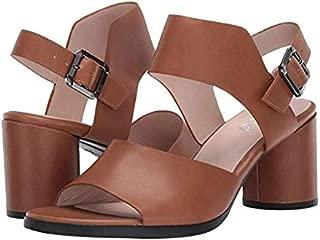 [エコー] レディースヒール・パンプス・靴 Shape 65 Block Strap Sandal Camel Calf Leather 39 (US Women's 8-8.5) M [並行輸入品]