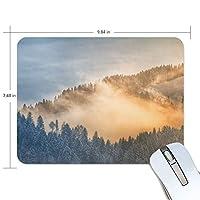 マウスパッド かわいい 山森 霧 悠遠な 高級 ノート パソコン マウス パッド 柔らかい ゲーミング よく 滑る 便利 静音 携帯 手首 楽