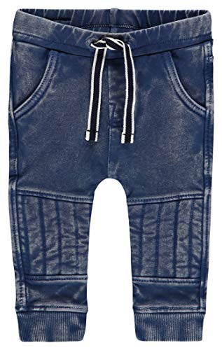 Noppies B Pants Slim Ripley Pantalones, Azul (Medium Blue Wash P044), 50 cm Unisex bebé