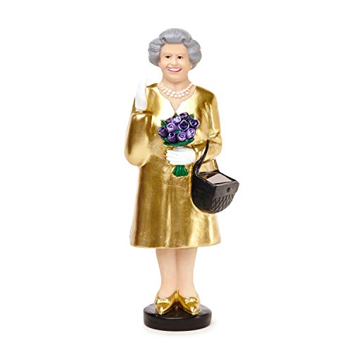 Kikkerland Solar Queen Gold Edition - Statuetta Decorativa