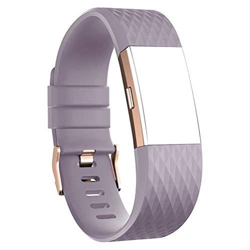 Fitbit Fitbit Charge 2 Classic Fitness Ersatz Zubehör Silikon Wristband für 2016 Charge 2