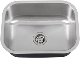 Phoenix Ph 185 23 Single Bowl 18 Gauge Stainless Steel Kitchen Laundry Sink Kit Part 7345396