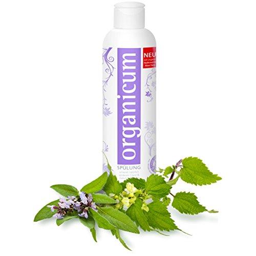 organicum Spülung (250ml) vegane Haarpflege für Seidenglanz & Geschmeidigkeit