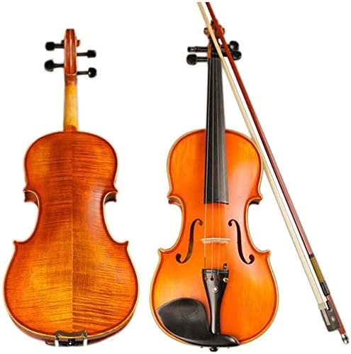 LIRONGXILY Max 41% OFF Acoustic Violin Fiddle Wood Handmade Por Solid Miami Mall