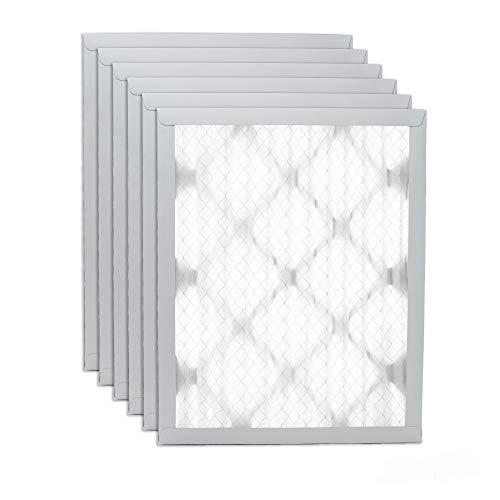 """Filters Fast 8x8x1 Pleated Air Filter (6 Pack), Merv 8 