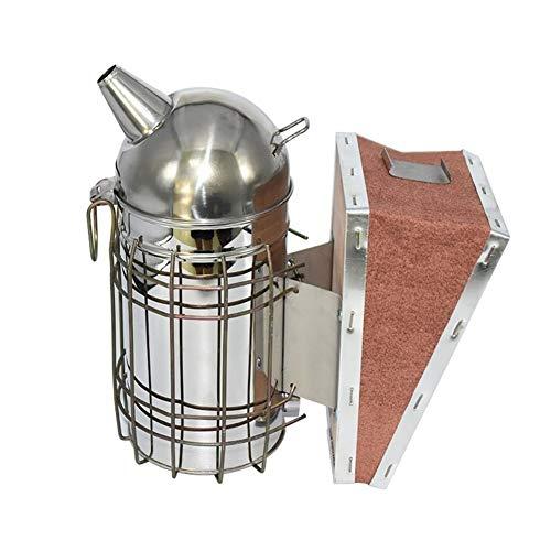 Ropa de apicultura Herramienta de la apicultura apicultura Fumador abeja Humo kit de transmisor apicultura apicultura Herramientas de humo pulverizador Conduce los accesorios de abejas