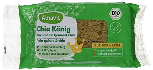 Alnavit Chia König Brot, 6er Pack (6 x 250 g)