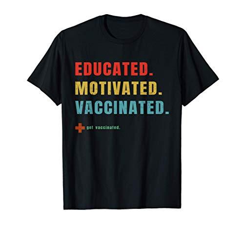 Geimpft - Impfstoff - Pro-Impfung - Immunisierung - T-Shirt