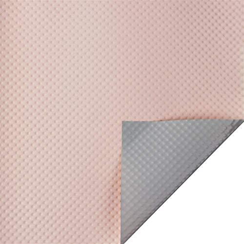 ZXL Materiales de Embalaje Floral, Envoltura Impermeable de Doble Cara de Dos Tonos Tienda de Flores para el día de la Madre Material Decorativo 58 * 58CM * 10PCS Origami (Color: B)