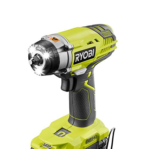 Ryobi 18-Volt ONE+ Cordless 3/8 in. 3-Speed Impact Wrench (Tool Only) P263
