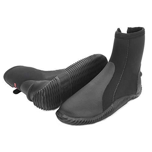 Alomejor Calcetines de Buceo Antideslizantes Calzado para Agua Caliente Calcetines de Surf Zapatos de Tela térmica de Buceo de 5 mm