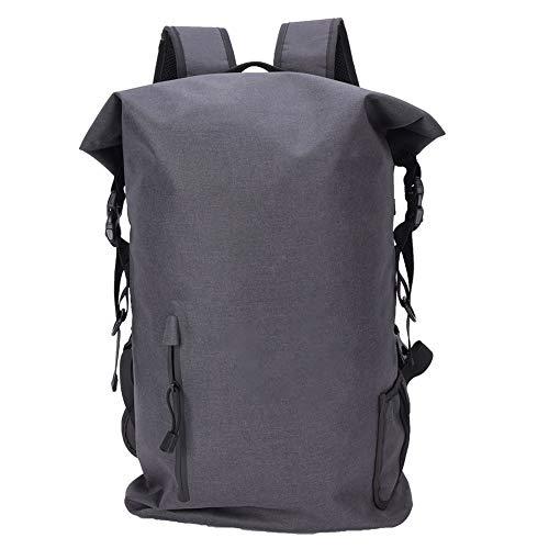 Junlucki Bolsa de Almacenamiento para Acampar al Aire Libre, Bolsa para Kayak, Duradera para Senderismo Suministros de Viaje Camping con Bolsillo pequeño(Black, 20L)