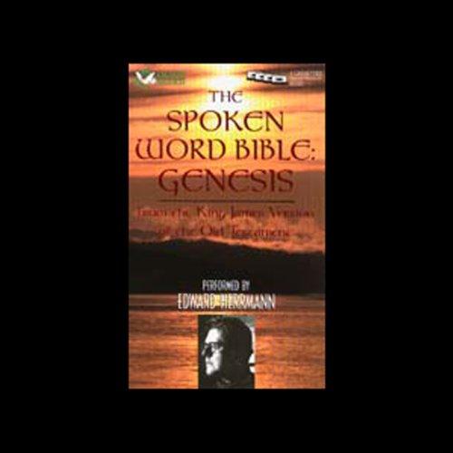 The Spoken Word Bible: Genesis audiobook cover art