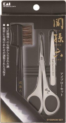 貝印『関孫六 アイブローセット(HC1810)』