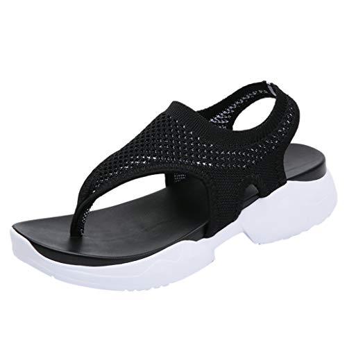 丨Mujer Memory Foam 丨Memory Foam丨Camara Espia Oculta 丨 Mujer 丨Sandalias Planas Mujer