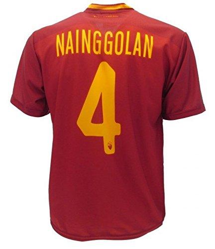 Maglia NAINGGOLAN Roma Replica Ufficiale 2017-18 Bambino Uomo Adulto RADJA (cm:Spalle 41,Torace 46,lungh.57-Anni 8)