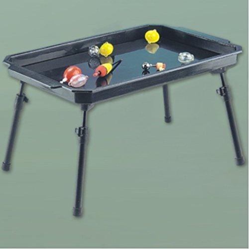 Bivvy Table, Kunststoff Deluxe Zubehör Zelt Tisch 28 x 45cm