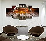 YUANJUN Wanddekoration Design Wandbild 5 Teilig Premium