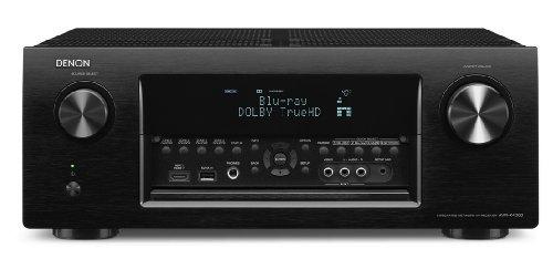 Denon AVR-X4000 BK 7.2 Surround Netzwerk AV-Receiver (Internetradio, 4k-Video, AirPlay, 3x HDMI, DLNA, HD-Audio, 200 Watt) schwarz