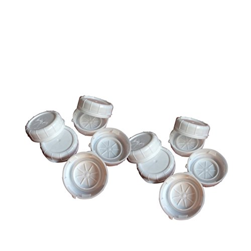 The Dairy Shoppe Replacement Glass Milk Bottle Caps, Fits 48 mm Libbey & Stan-Pac (Pack of 12)