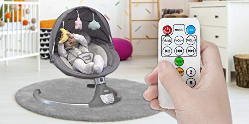 41aVIKFbGSL The Best Baby Swing with Lights and Music in 2021